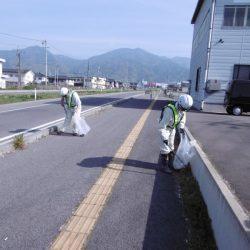 平成27年度 国道18号上田バイパス美化活動実施状況
