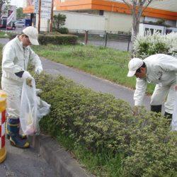 平成26年度 国道18号上田バイパス美化活動実施状況