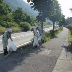 平成30年度 国道18号上田バイパス美化活動実施状況