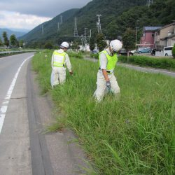 令和2年度 国道18号上田バイパス美化活動実施状況